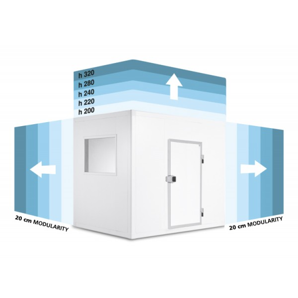Панели за хладилна камера MISA -  KLC Modularita