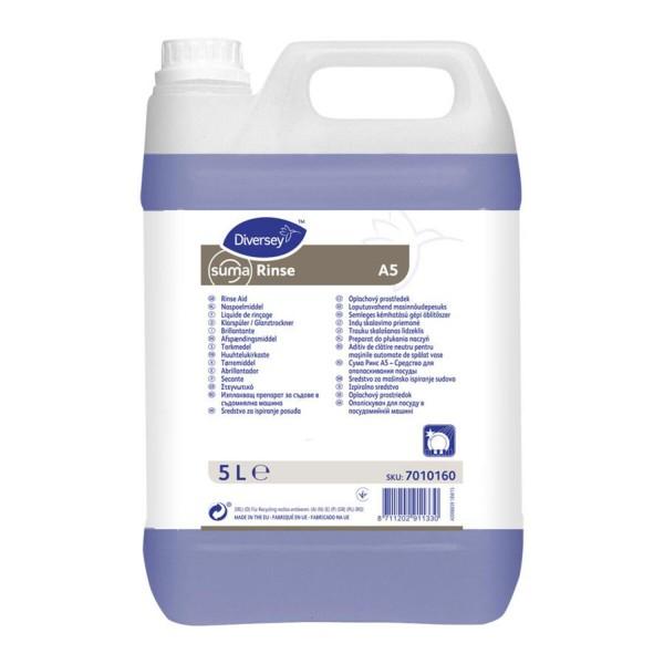 Изплакващ препарат за съдомиялни  Diversey Suma Rinse А5 - 5 литра