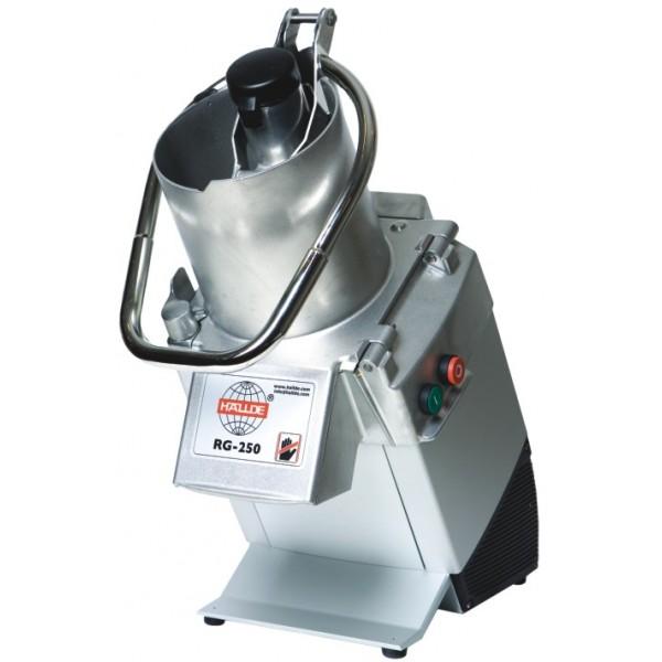 Зеленчукорезачка HALLDE - 8 кг./мин. без дискове за рязане - RG 250
