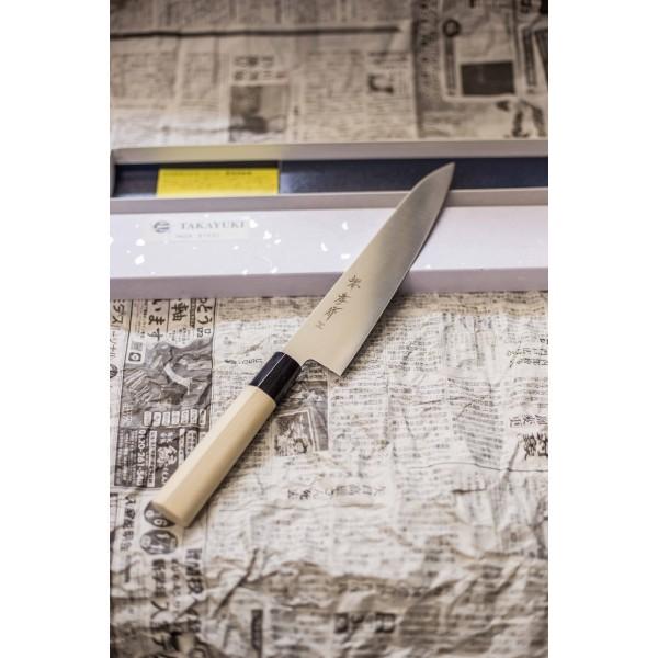 Професионален кухненски нож  Cook's Knife  INOX series  210mm - Sakai Takayuki
