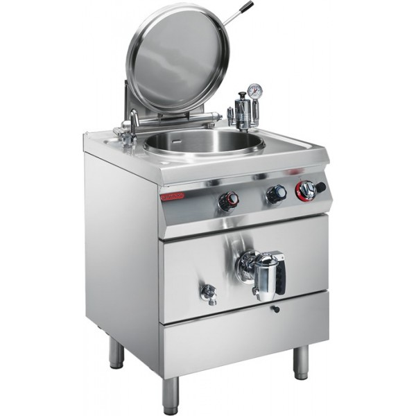 GAS INDIRECT HEATED BOILING PAN 60 L  Angelo Po - 1G1PI1G