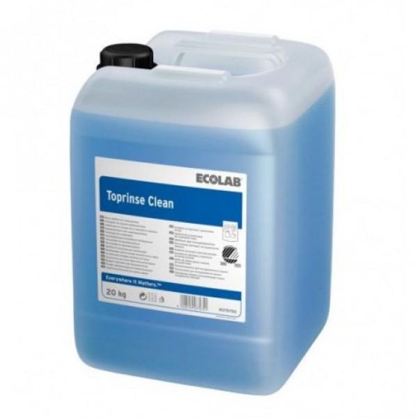 Изплакващ детергент за професионални съдомиялни машини TopRince Clean - Ecolab - 2х5 литра