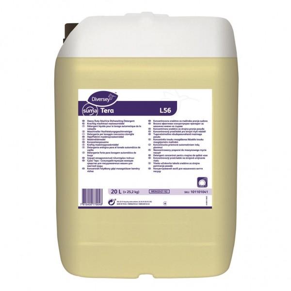 Tечен измиващ препарат за съдомиялни машини за твърда вода Diversey Suma Tera L56 -20 Ltr